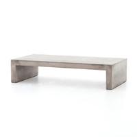 Parish Indoor / Outdoor Concrete Coffee Table 60""