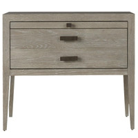 Kennedy Modern Grey Oak 1 Drawer Nightstand