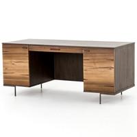 Cuzco Yukas Wood Modern Executive Office Desk