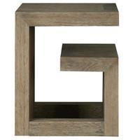 Wilshire Modern Oak Wood Bedside G Table, 642355