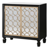 Franzea Mirrored Small Console Cabinet