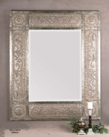 Harvest Serenity Champagne Gold Wall Mirror