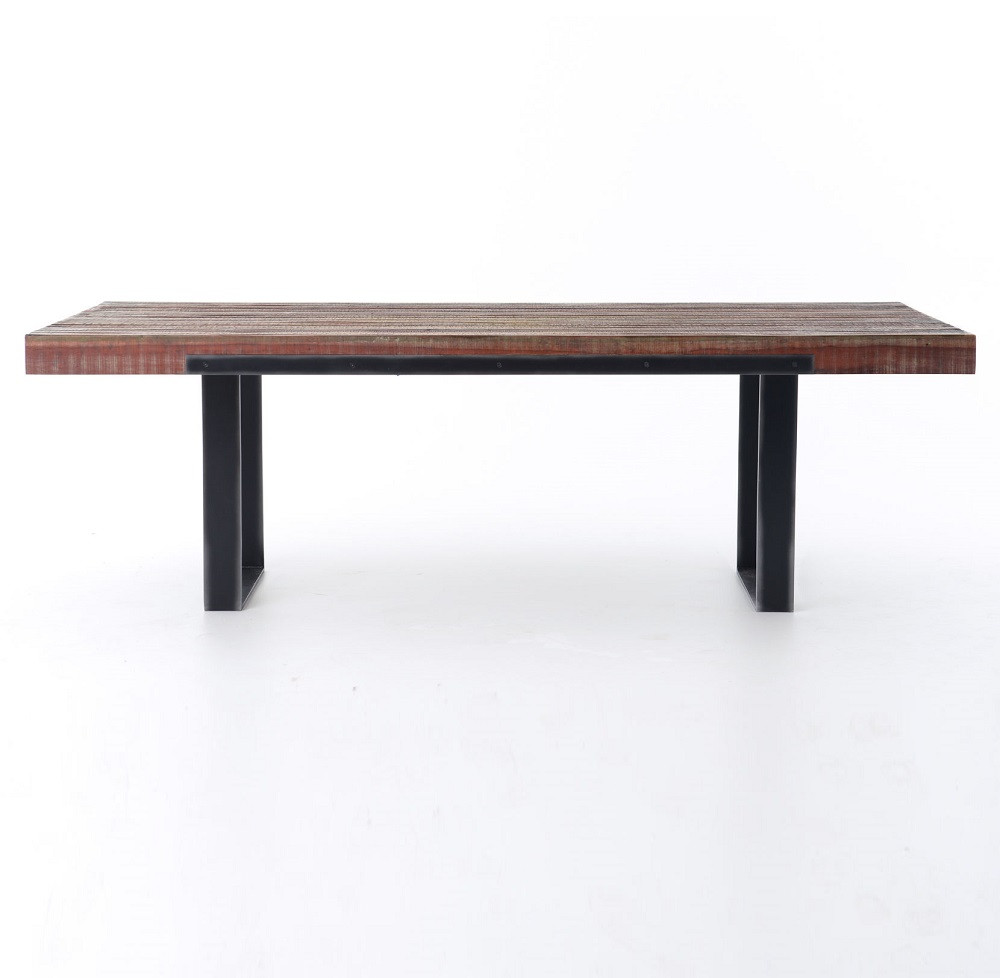 Bina Graham Industrial 84 Dining Table  Zin Home