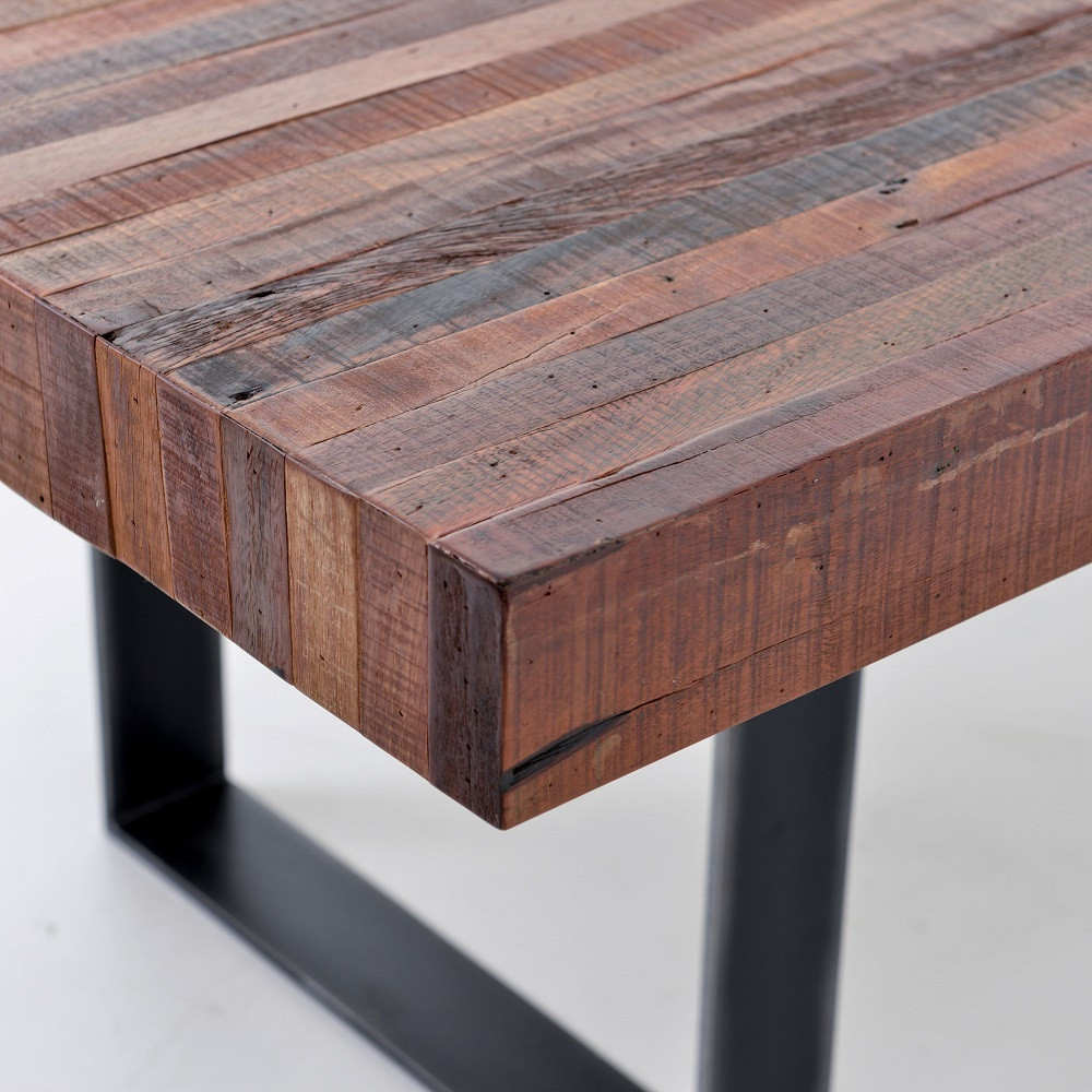 Bina Graham Industrial 84 Quot Dining Table Zin Home