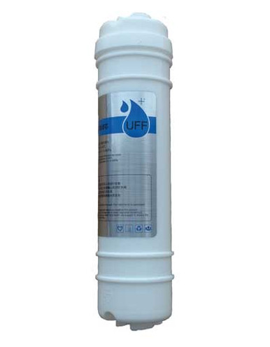 Ultra filter replacement cartridge without connectors