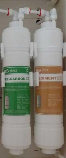 EOS Filter cartridges 1&2 for Revelation Undersink ionizer