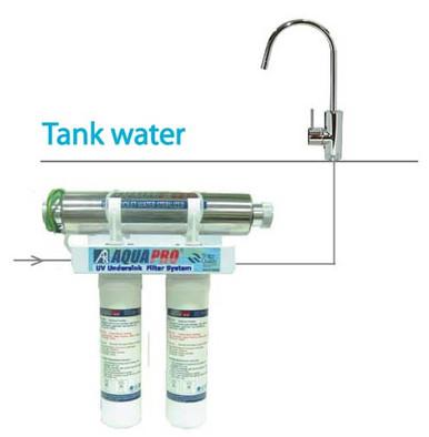 Filters/UV light bulb for UV filter system