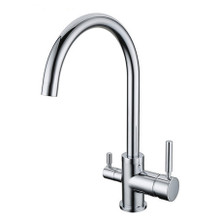 Modern 3 way Sinktap with  integrated Filter tap