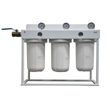 """LifeSpring TRIPLE Whole House Filter System 10"""""""