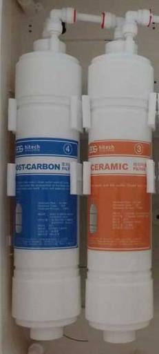 EOS Filter cartridges 3 & 4 for Revelation Undersink ionizer