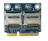MR15 (Dual Micro SD Cards to Mini PCIe adapter)