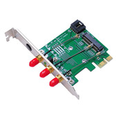 MP2W (Mini PCI-E / PCI-E adapter ver 2.2)
