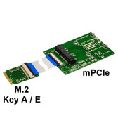P15S-P15F (M.2 (NGFF) to mPCIe Extender Board)