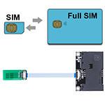 B4490A-DB32 (SIM to SIM/ Full Size SIM Extender)