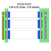 P27S (x16/x8/x4/x1) (Flexible x16 PCI Express Extender)