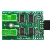 U0902A (USB2.0 9Pin Header to Dual RS232)