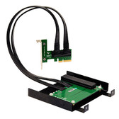 PE4F (PCIe x4 Add-On Card Front Drive Bay Docking System (5.25 inch ODD Form Factor))