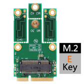 M2MP3-E (M.2 (NGFF) to mPCIe (PCIe+USB) adapter)