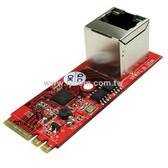 GigaLAN 1000BASE-T Ethernet PCIe x1 M.2 A-E Key Module