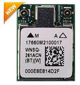 WNSQ-261ACN(BT) 802.11ac/a/b/g/n M.2 LGA Type 1216 Module, Qualcomm Atheros QCA6174A-5, 2T2R