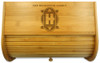 Art Deco Personalized Family Breadbox