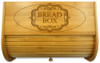 Centerpiece Wood Bread Box