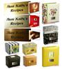 Plaque for Personalizing Recipe Box or Recipe Binder