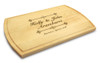 Bliss 10x16 Grooved Cutting Board Maple Made in USA