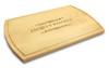 Classic Filigree 10x16 Grooved Cutting Board