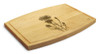 Flowers Aster1 9x12 Grooved Maple Cutting Board