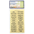 Clear Spice Labels Collection (set of 96)