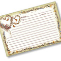 4x6 Hearts Recipe Card