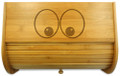 Bread Monster Bamboo Bread Box