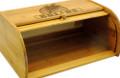 Wheat Grain Bamboo Bread Box
