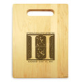 Fairy Tale 9x12 Small Personal Cutting Board Handle Maple Wood