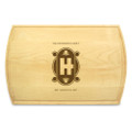 Art Deco 10x16 Grooved Chopping Board