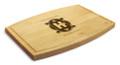 Art Deco 9x12 Grooved Cutting Board