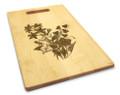 Bellflower 10x16 Handle Cutting Board