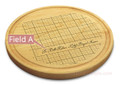 Beyond Measure 10in Round Maple Cutting Board with Juice Groove