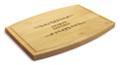 Classic Filigree 9x12 Grooved Maple Cutting Board