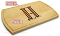 Columns 10x16 Grooved Personalized Cutting Board