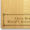 Corinthian 10x16 Handled Personalized Cutting Board