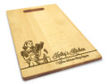 Miss Mixer 10x16 Handled Personalized Cutting Board