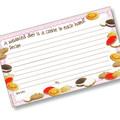 3 x 5 Cookie Crumbles Recipe Card