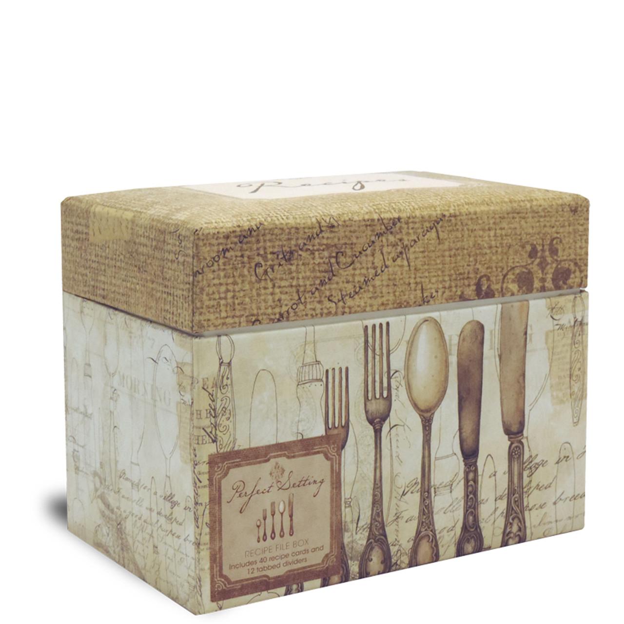 Decorative Recipe Box 2: Recipe Box Warehouse