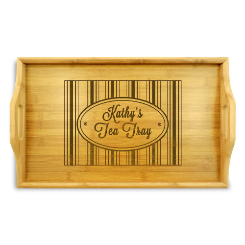 Hat Box Serving Tray