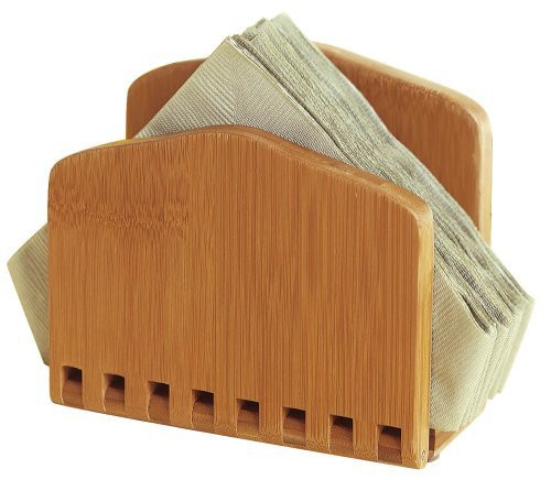 Adjustable Napkin Holder in Bamboo