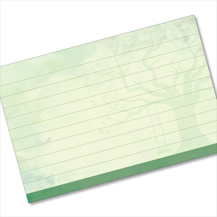 4x6 Recipe Card Tree Swing Green 40ea