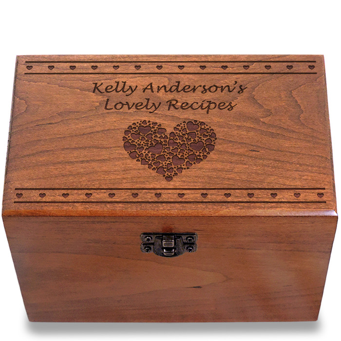 Valentina Personalized Cherry 4x6 Gift Box
