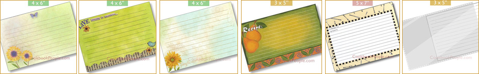Recipe Card Selection